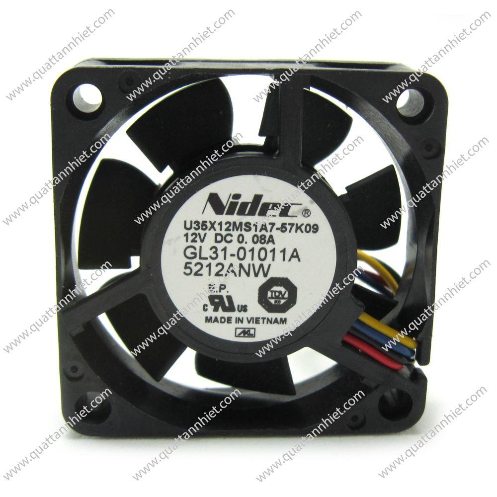 Quạt tản nhiệt Nidec 12V 35x35x10