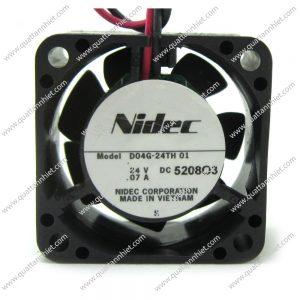 Quạt tản nhiệt Nidec 24V 40x40x20