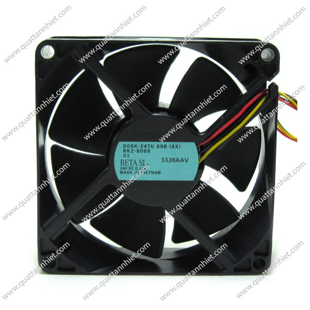 Quạt tản nhiệt Nidec 24V 80x80x25