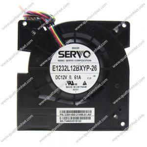 Quạt sò Servo 48v 120x120x33