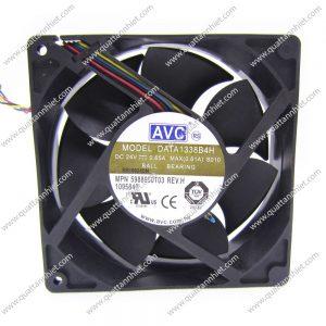 Quạt tản nhiệt AVC 24v 126x126x37