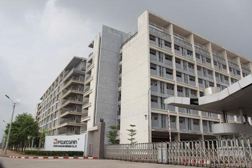Hình ảnh nhà máy Foxconn bắc ninh - Việt Nam