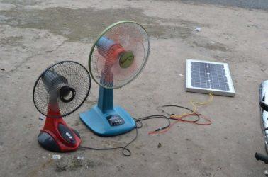 Quạt sử dụng năng lượng mặt trời