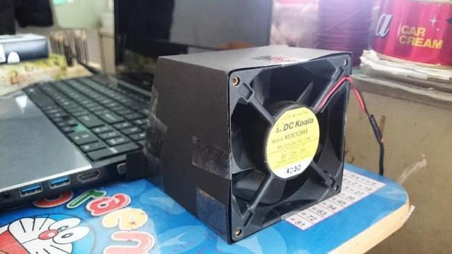 Tự chế quạt tản nhiệt cho laptop